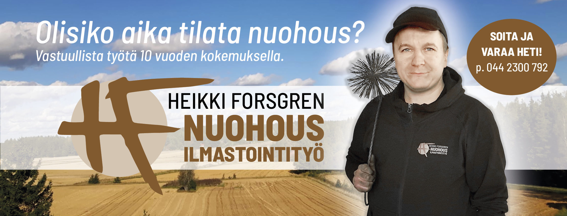 Nuohous- ja ilmastointityö Heikki Forsgren